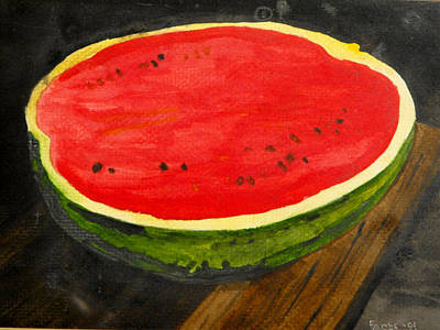 Painting - Watermelon by Larry Farris