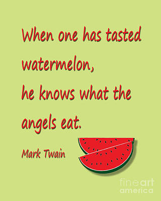 Digital Art - Watermelon by Lee Owenby