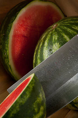 Photograph - Watermelon by Matthew Pace