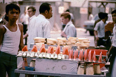 Photograph - Watermelon Vendor by John Warren