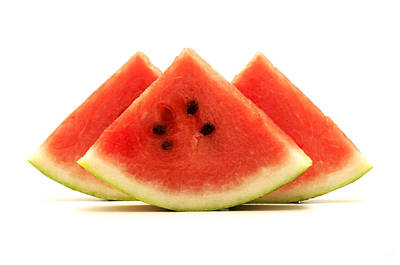 Photograph - Crimson Sweet Watermelon by Fabrizio Troiani