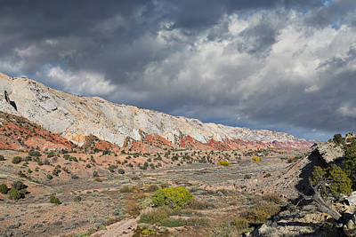 Photograph - Waterpocket Fold Above Strike Valley by Kathleen Bishop