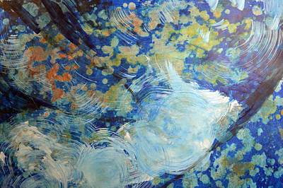 Painting - Water's Edge Flow by John Fish