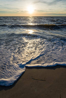 Jersey Shore Photograph - Water's Edge by Kristopher Schoenleber