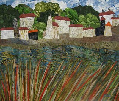 Tapestries Textiles Tapestry - Textile - Water's Edge by Lynda K Boardman