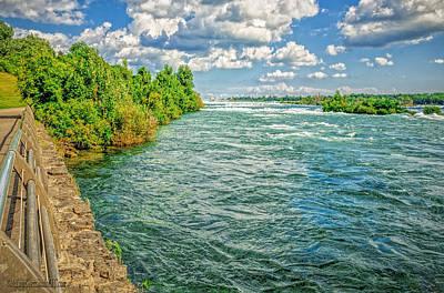 Photograph - Waters Feeding Niagara Falls by LeeAnn McLaneGoetz McLaneGoetzStudioLLCcom
