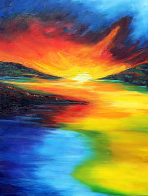 Art Print featuring the painting Waters Of Home by Meaghan Troup