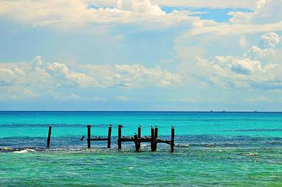Photograph - waters of Mexico    by Puzzles Shum