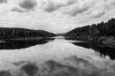 Photograph - waterscape in the Harz by Andreas Levi