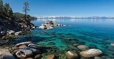 Lake Tahoe Photograph - Waterscape P5127093 by Martin  Gollery