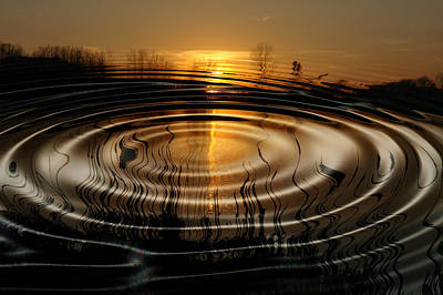 Photograph - Watersun by Kevin Cable