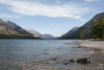 Photograph - Waterton Lake by Kenneth Hadlock