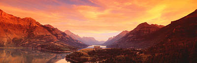 Waterton Lakes National Park, Alberta Print by Panoramic Images