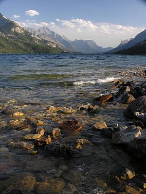 Photograph - Waterton Lakes Park by Robert Lozen
