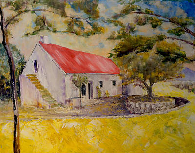 Painting - Waterval Farm by David  Hawkins