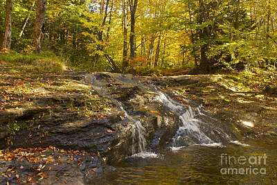 Art Print featuring the photograph Waterville Waterfall Revisited by Alice Mainville