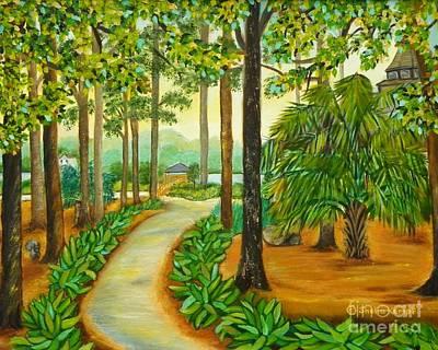 Painting - Waterway Park by Shelia Kempf