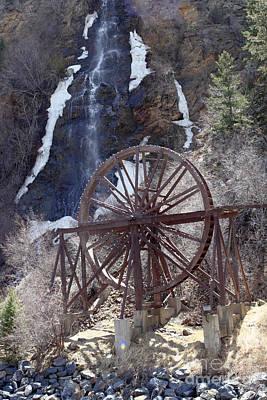 Sean - Waterwheel and Waterfall by Lee Serenethos