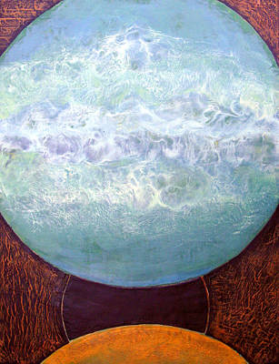 Painting - Waterworld by Carolyn Goodridge
