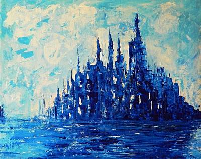 Painting - Waterworld by Everette McMahan jr
