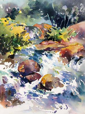 Watery Respite Art Print
