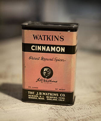 Advertising Photograph - Watkins Cinnamon 2 by Marilyn Hunt