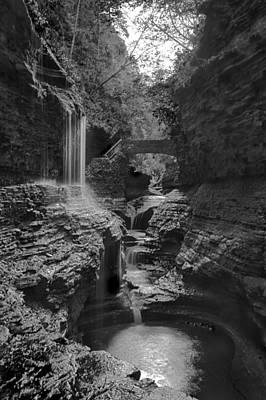 Photograph - Watkins Glen 02 Bw by Jim Dollar