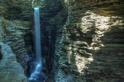 Watkins Glen Art Print by Dave Files