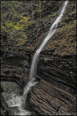 Photograph - Watkins Glen by Erika Fawcett