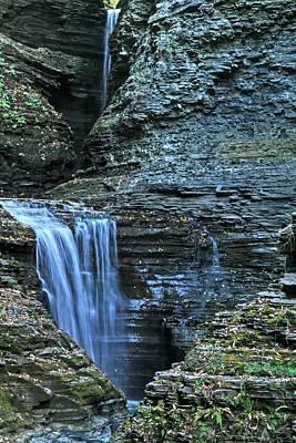 New York State Photograph - Watkins Glen Falls by Heather Allen
