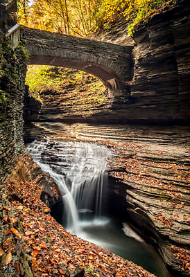 Watkins Glen Gorge Art Print