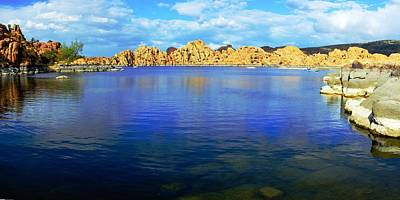 Granite Dells Photograph - Watson Lake #2 by Richard Henne