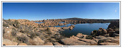 Prescott Photograph - Watson Lake Arizona January 24 2011 by Brian Lockett