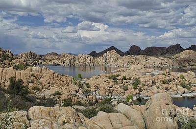 Watson Lake Arizona Art Print