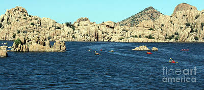 Photograph - Watson Lake Prescott Az by Afrodita Ellerman