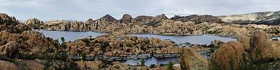 Granite Dells Photograph - Watson Lake by Richard Henne