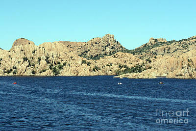 Photograph - Watson Lake View by Afrodita Ellerman