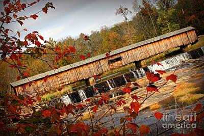 Photograph - Watson Mill 2 by Reid Callaway