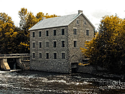 Photograph - Watson's Mill by Bianca Nadeau