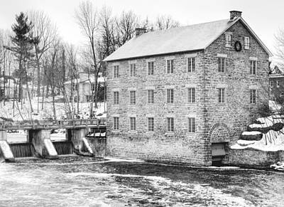 Photograph - Watsons Mill In Manotick Ontario by Rob Huntley