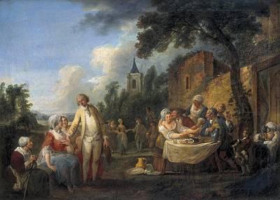 Watteau De Lille, Louis-joseph Watteau Art Print by Everett