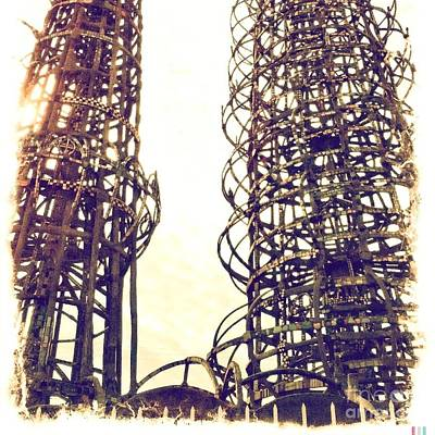 Outsider Art Photograph - Watts Towers by Judith Kitzes