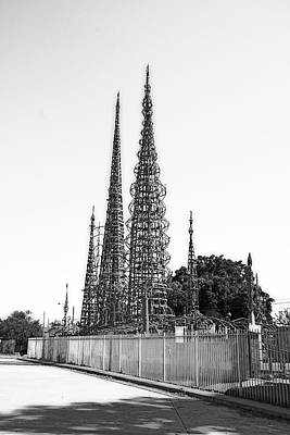 Watts Towers Art Print