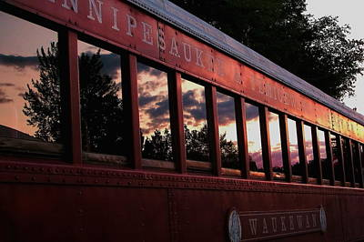 Photograph - Waukewan Train by Jeff Heimlich
