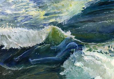 Wave 4 Art Print