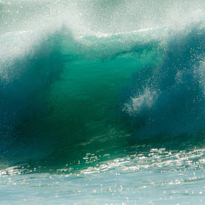 Photograph - Wave 9 by Alistair Lyne