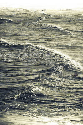 Photograph - Wave Abstract Art by Gray  Artus