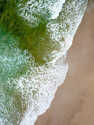 Photograph - Wave Action On Tallow Beach by Rob Huntley