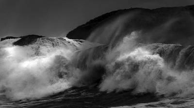 Wave Print by Alasdair Turner