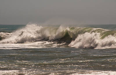 Photograph - Wave At Kirk Creek Beach by Lee Kirchhevel